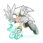 Silver the Hedgehog by Blue-Erizo
