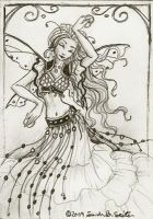 Fairy Dance - ACEO by MisticUnicorn