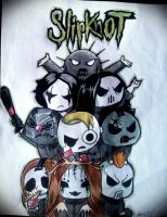 chibi Slipknot by Frankienstein