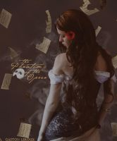 Phantom Of The Opera Mock Book Cover by Super-Fan-Wallpapers