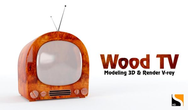 Wood TV by moudjahad