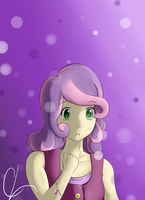 Human Sweetie Belle by SuperJewishGoat