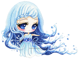 :C: Water Element by tho-be