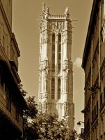 Tour Saint-Jacques by Yousry-Aref