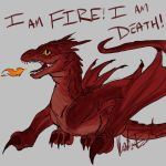 Baby Smaug by CloudClipper