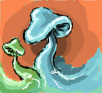 iScribble Mushrooms by Changeofheart13