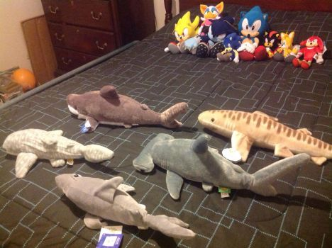 Sonic ant the sharks by LoganQ091601