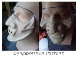 Carnivorous Mempo clay by WulWhite