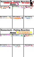 Homestuck Pairing Reaction Meme 3 by meanerminer