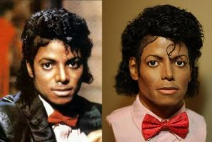 Michael Jackson Billie Jean comparison bust by godaiking
