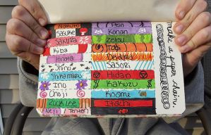 Wreck This Journal: Make a Paper Chain. by MissMondayMourning