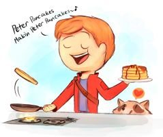 GOTG-Peter Pancakes by SnookieVonPink123