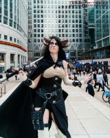 Steampunk Satyr - Canary Wharf 1 by TPJerematic