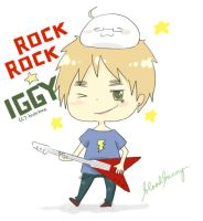 ROCK ROCK IGGY by hahahaXD