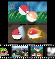 1: Voltorb - Battle of Voltorb by NiaWolf