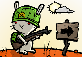 WW2 Bunny by maduin83