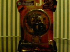 Mortal Kombat 2011 3''  Scorpion action figure by godofwarlover