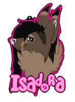 ISADORA Badge by DlSEASE