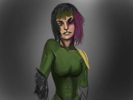 Female rogue by dot-pReDiCtOR
