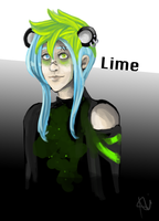Comm: Lime by Sweetsunnyrain