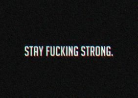 stay strong.. by Renkat