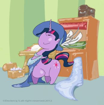Twilight Sparkle, always dresses in style by Stephane-81