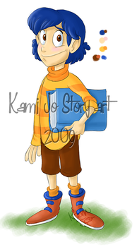 Jimmy character design by kamijo