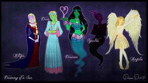 DoaS: Ladies of the Ghost Zone by DreamaDove93