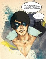 First Appearance: Nightwing by kiksology