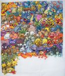 Pokemon Gen. 1 Cross Stitch 14 by lizardlea
