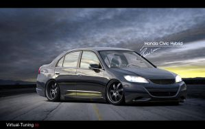 Honda Civic Hybrid v2 by LEEL00