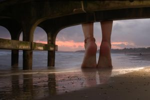 Under the Boardwalk by Accasbel