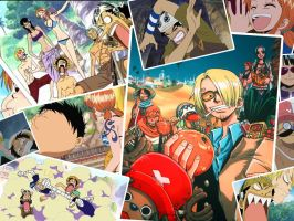 One Piece wallpaper 1024x768 by princessxia