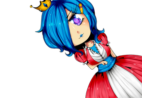 Cute Chibi Princess.Png by koyiabachi