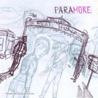 Paramore. Welcome to Real World - process by Modern0