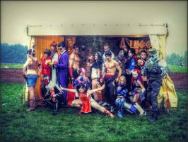 Tekken Tag Tournament 2 Group by DarioxCosplay