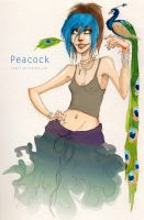 peacock by Fukari