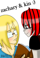 Zachary and Kin by IHATELOVEITSUCKS