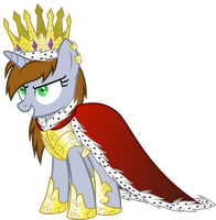 FOE - Queen Littlepip I the Magnificent by Magister39