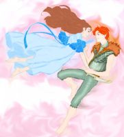Peter and Wendy flying by Magewriter