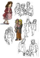 Quick Sketch People 09 2013 02 by yen-wen-hsieh