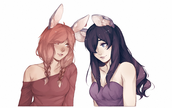 Marcey and Grace by AnimoAnim3