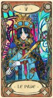 Heyoga: - V - The Hierophant by Nacrym