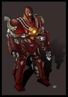 Steampunk Iron Man v02 by drvce