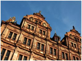 Heidelberg Castle by Fox82