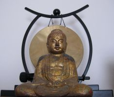 Buddah gong stock by AngelKast