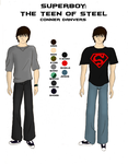 Character Sheet - Superboy by girlwonder004