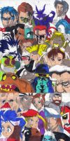 D.C. Superheroes Vs. Capcom 3 by AuronTsubaki1985