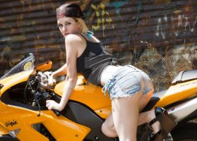 Bikes and Babes 4 by chrismaverick
