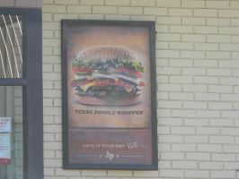 Texas Double Whopper by Zomit